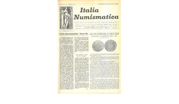 277002f97a Italia numismatica. (Italian) Hardcover – January 1, 1964