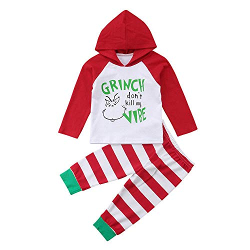 LNGRY Baby Outfits,Toddler Infant Kid Girls Boys Grinch