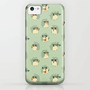 Society6 - Adorable Green Penguin Pattern iPhone & iPod Case by Claire Stamper