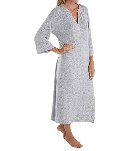Donna Karan Clothes - Donna Karan Sweater Jersey Night Gown, M, Winter White