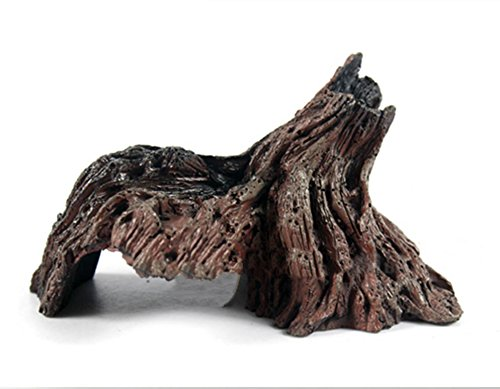 World 9.99 Mall Reptile Decor,Reptile cave Simulate Root Hide Cave - Mall Cool Springs