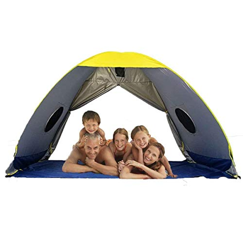 RIJER Instant Sun Shade Tent POP UP Family UV Play Beach Tent Cabana Anti UV Portable Automatic Sun Shelter for Camping Fishing Hiking