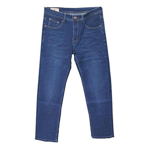 Pantalon Loose Bleu Denim Mode Baggy Jeans Niseng Cow Hommes Mid Casual boy PFwIxFEU