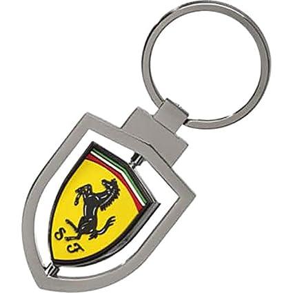 Ferrari Llavero Metalico Giratorio: Amazon.es: Juguetes y juegos