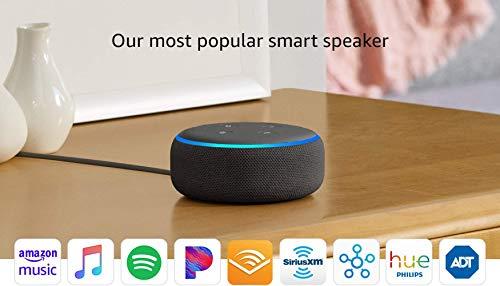 Echo Dot (3rd Gen) - Smart speaker with Alexa - Charcoal