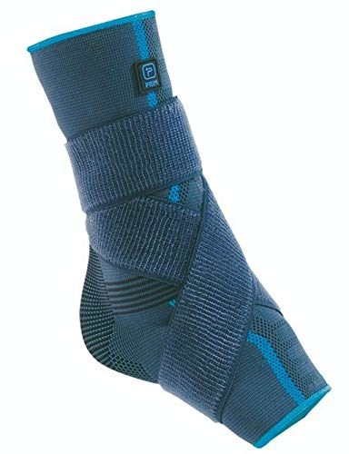 Prim Ankle Brace, Compression Support Sleeve with Adjustable Strap, Planter Fasciitis Support, Achilles Tendon Support, Plantar Fasciitis Support Brace, Ankle Brace for Men and Women, Large