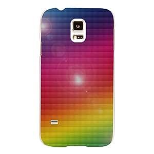 """Disagu Design Protective Case para Samsung Galaxy S5 Funda Cover """"Regenbogen"""""""