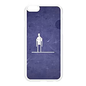 8Bit - Marvel SilverSurfer White Hard Plastic Case for iPhone 6 Plus by DevilleArt + FREE Crystal Clear Screen Protector