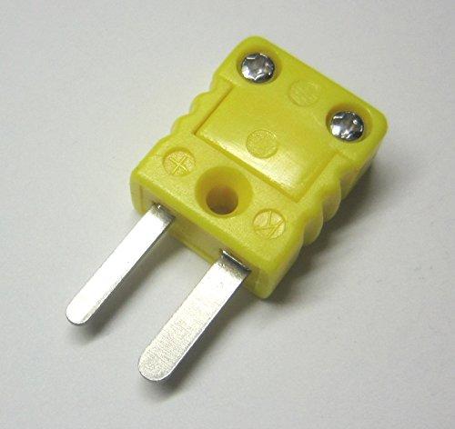 Miniature Mini K-type Thermocouple Connector - Male Plug