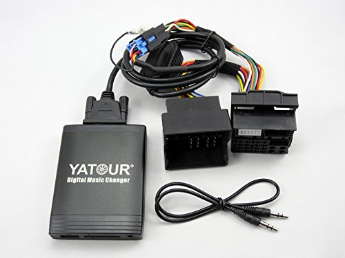 YATOUR Car Digital Music Changer MP3 Adaptor Interface Auto Stereo USB SD AUX Bluetooth(Optional) Radio for Renault 12Pin
