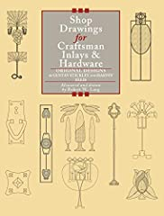 The finest Craftsman furniture featured beautiful inlays of hardwood, burls, pewter, and copper. The lovely inlays add color, lyricism, and graceful flourish to the furniture designed by Gustav Stickley and his associates in the 20th C...