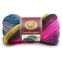 Lion Brand Yarn Company 545-218 Lion Brand Landscapes Yarn, Galaxy