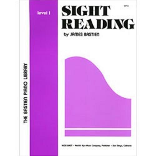 Sight Reading, Level 1 (The Bastien Piano Library)
