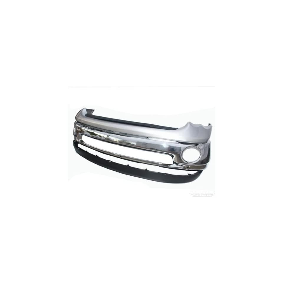 02 06 Dodge Ram Chrome Front Bumper, Top Pad, Molding Strip and Valance Package