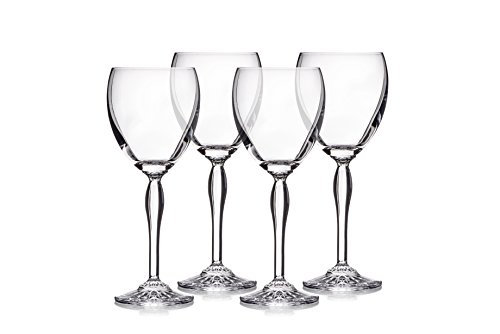 Marquis by Waterford 40030446 Ventura Purpose Wine Set/4, 12 oz, Clear (Wine Purpose Set Glass)