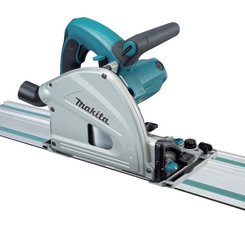 Makita SP6000J1 6-1/2-Inch Plunge Circular Saw with Guide Rail (Track Circular)