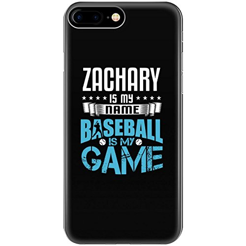 ZACHARY My First Name Baseball My Game Fan and Player - Phone Case Fits iPhone 6 Black ()