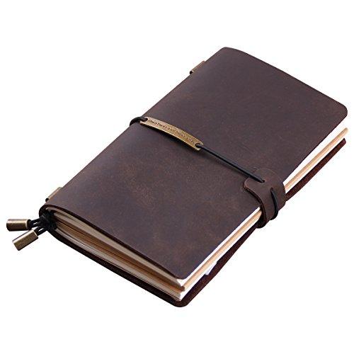 Robrasim Vintage Leather Journal Notebook