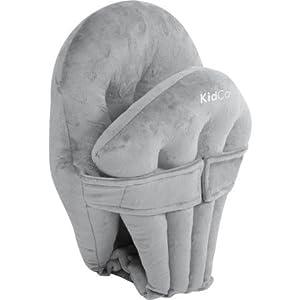 KidCo Huggapod Infant Seat Cushion Support, gray