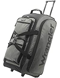 "30"" Multi-Pocket Rolling Travel Duffel Bag"