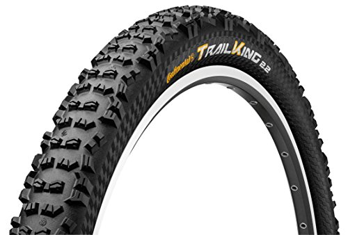 Continental Trail King Fold ProTection/Apex, Black Chili, Mountain Bike Tire, 27.5-Inch x 2.2, - Tire Fold Bike