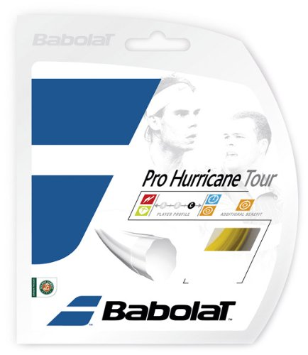 Babolat Pro Hurricane Tour (16-1.30mm) Tennis String Set (Natural) ()