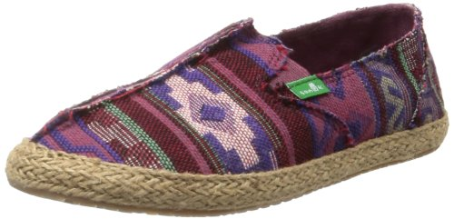 Toe Sanuk Line Purple The Women's Shoe Poncho TU8Uqw1