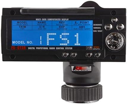 Flysky FS-GT3B 3CH RC System 2.4G Transmisor de Radio Control con Receptor FS-GR3E para RC Car Boat