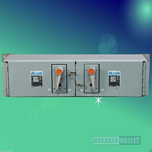 Refurbished Zinsco QSFT653B Panelboard Panel Switch Twin 60A 600V Fusible QSF - Refurbished Panel