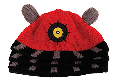 UHC Doctor Who Dalek Robot Cuffed Beanie Hat Cap Halloween Costume Accessory