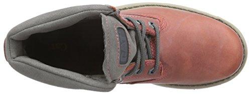 Cat Footwear BRUISER - botas chukka de cuero mujer rojo - Rot (WOMENS SENEGAL)