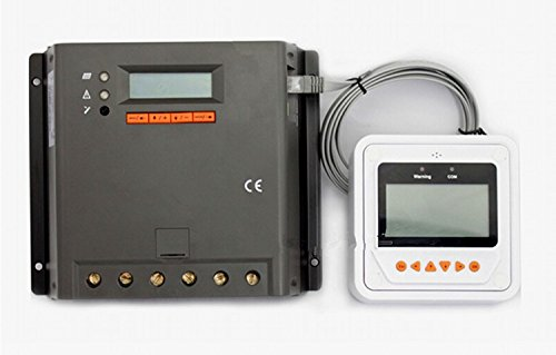 GOWE 60A, 12 V/24 V/36 V 48 V EP PWM-Solar-Laderegler (mit LCD-display