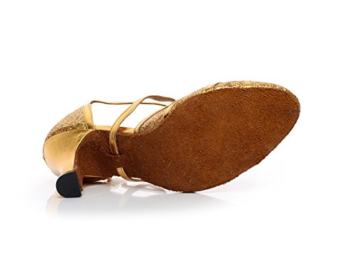 Mujer Danza De Latina JSHOE Para Zapatos De Tac 14wORO
