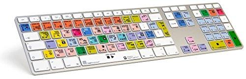LogicKeyboard keyboard Compatible with MAC Logic Pro X 10.2.1 - LKB-LOGXP2-AM89