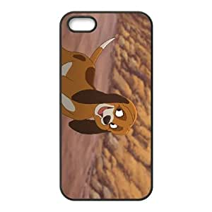 Disney The Fox and the Hound Character Copper iPhone 5 5s Cell Phone Case Black Loidm