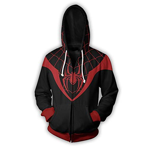 TngHui Adult Size Spiderman Cosplay Costume Sweater Commemorative Clothes Unisex-Adult ()