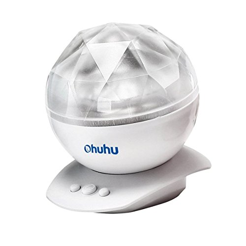 Ohuhu Color Changing Led Night Light Lamp Realistic Aurora Star Borealis Projector by Ohuhu