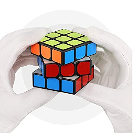 Mr.M Edition Beyong 3x3 Magnetic Speed Cube 3x3x3 Sticker Puzzle Black