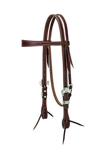Weaver Leather Working Tack Slim Browband Headstall ()