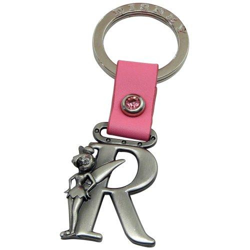 (Tinker Bell Letter R Pewter Key Chain)