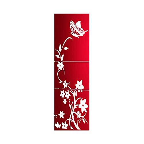 Pansy Vine - Pansy Vine Removable Self-Adhesive Wall Sticker Decor Refrigerator Sticker