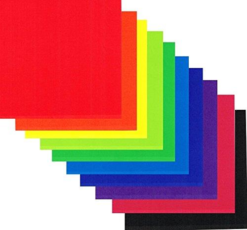Lakeer 15cm x 15cm Origami Paper (Set of 1, Multicolor) Pack of 200 Sheets Unruled 15cm x 15cm Origami Paper (Set of 200, Multicolor)