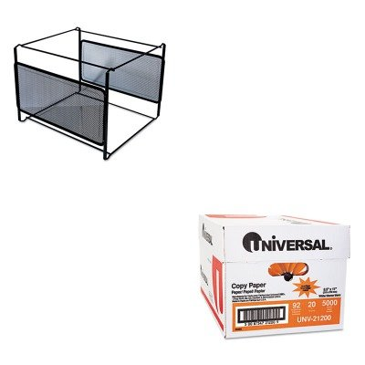 KITUNV20003UNV21200 - Value Kit - Universal Mesh File Frame Holder (UNV20003) and Universal Copy Paper (UNV21200)