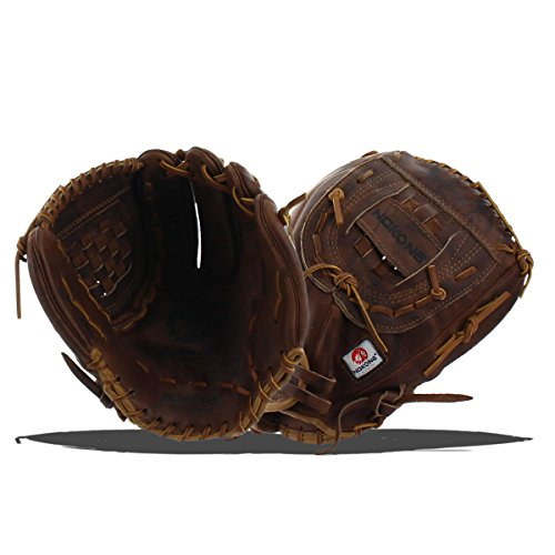 Nokona Buffalo - Nokona AMG600-W-CW 12.5-Inch Closed Web Walnut Leather Baseball Glove (Right-Handed Throw)