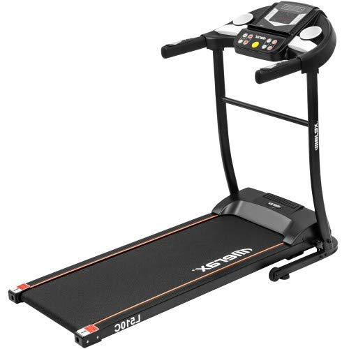 Wopin Folding Electric Treadmill Motorized Running Exercise Machine (Black)