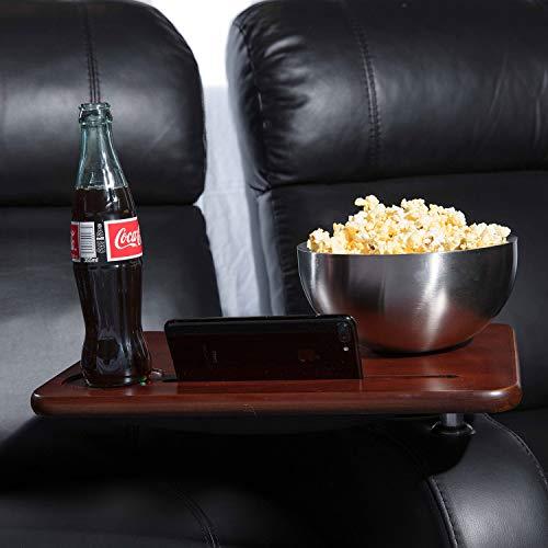 Octane Seating Walnut Swivel & Lap Table ()