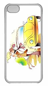 Customized iphone 5C PC Transparent Case - Valentines Day 9 Personalized Cover