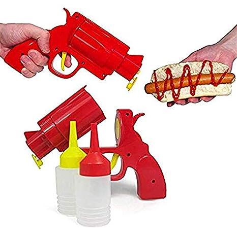 Amazon.com: Revolver - Botella de salsa para condimentos ...