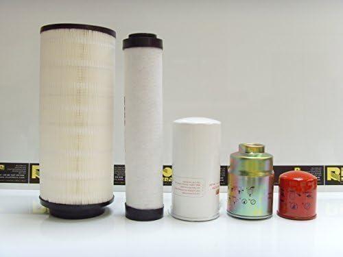 Takeuchi TB285 Filter Service Kit - Air, Oil, Fuel Filters: Amazon