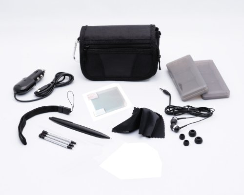 3ds xl starter kit black - 2